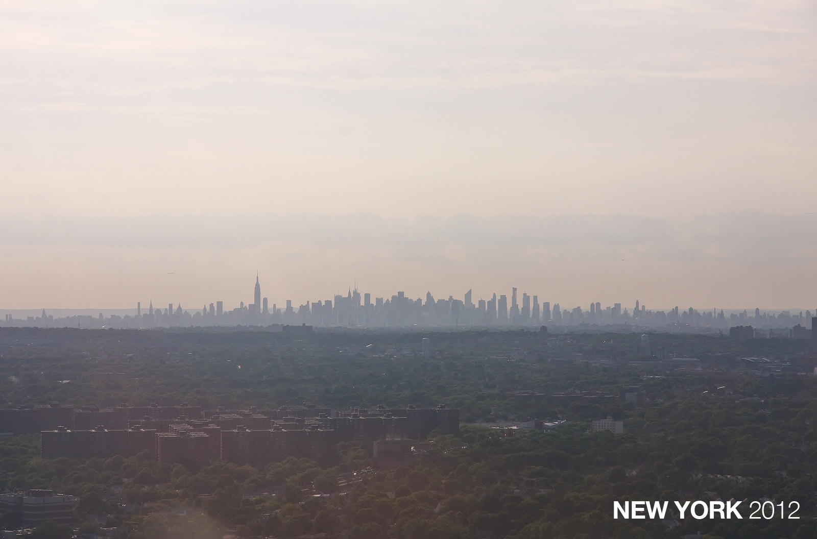 New York City Skyline in 2012