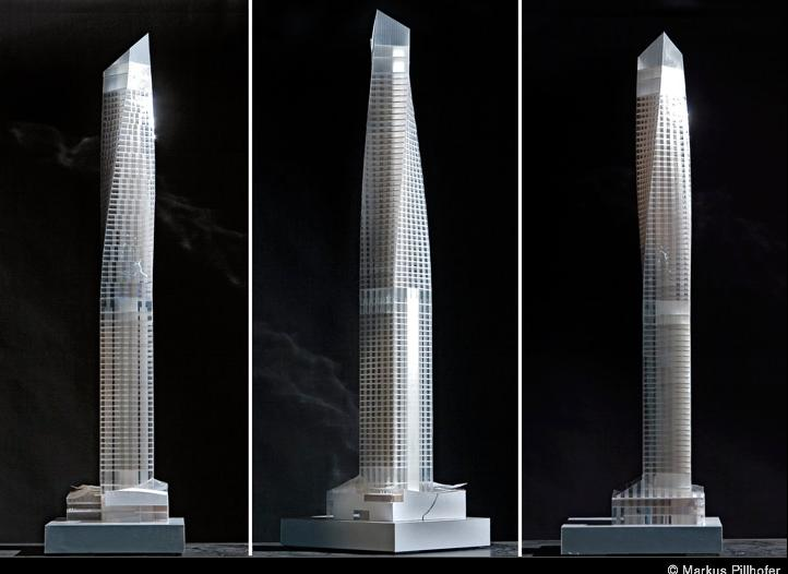 Old Proposal for 250 West 55th Street NYC