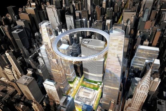 SOM Towers Halo Midtown East
