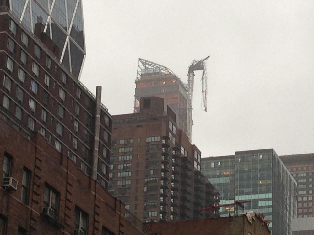 One57 Crane Collapse
