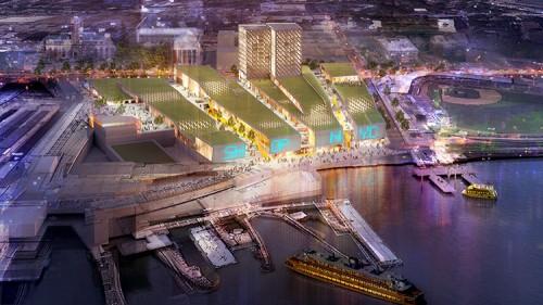 Staten Island Ferris Wheel Mall