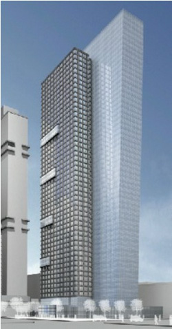605 West 42nd Street NYC Old Design