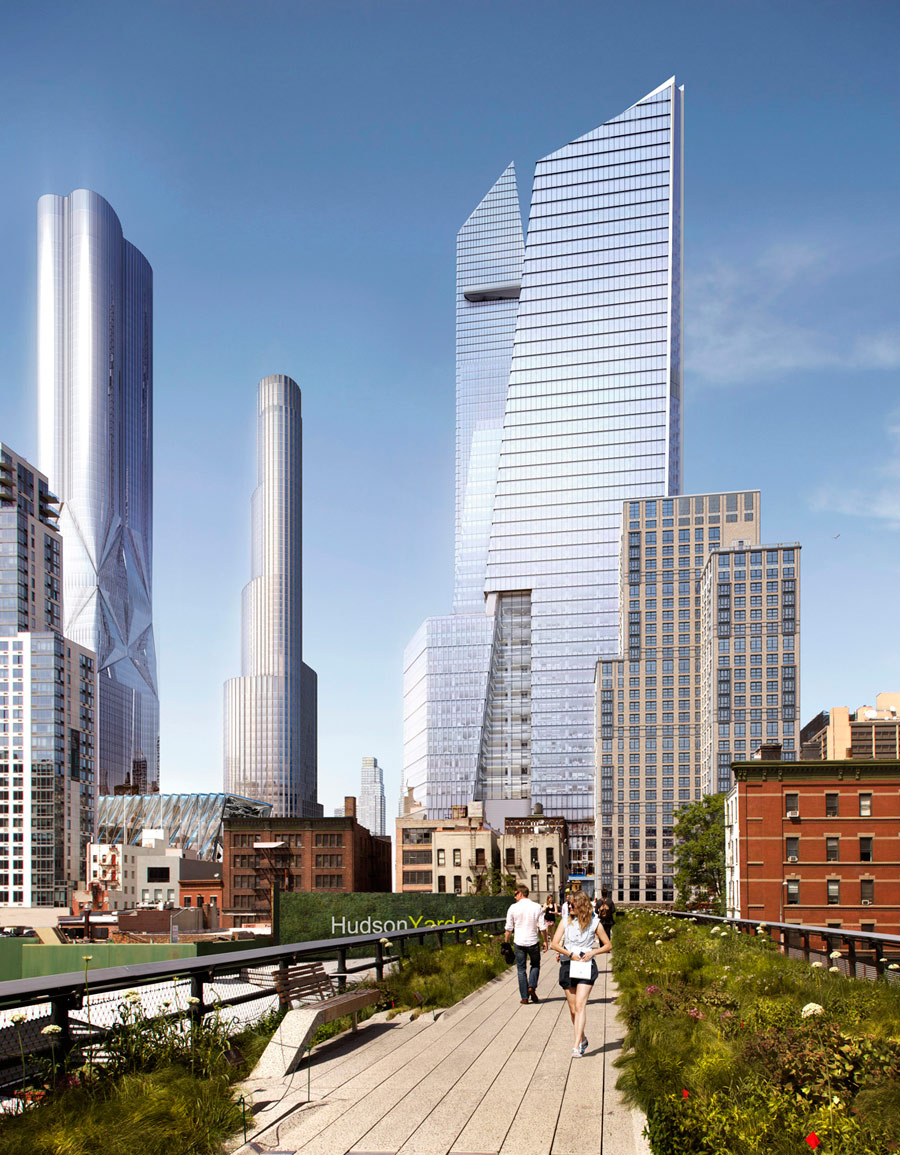 The Hudson Yards Manhattan