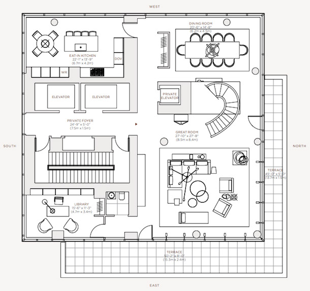 Floorplan - Level 58