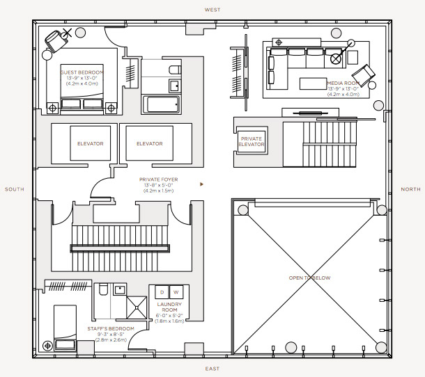 Floorplan - Level 59