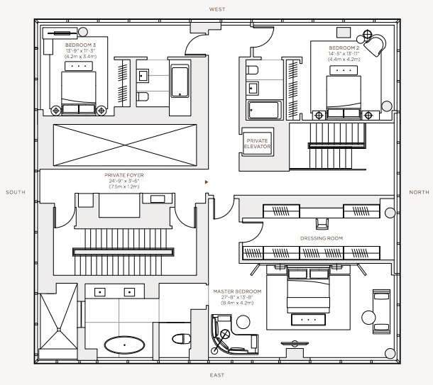 Floorplan - Level 60