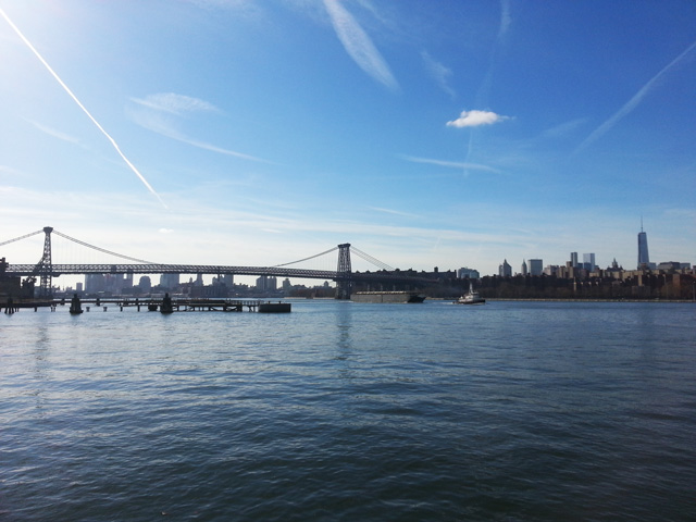Manhattan Skyline & Williamsburg Bridge