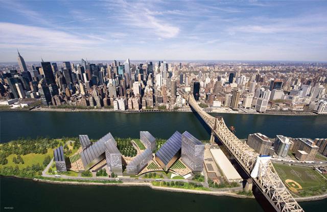 Cornell's Future Roosevelt Island Expansion