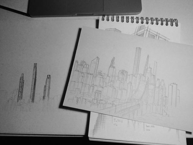 The Midtown skyline in 2020