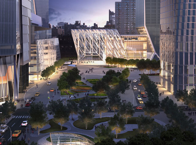 The Plaza at Hudson Yards