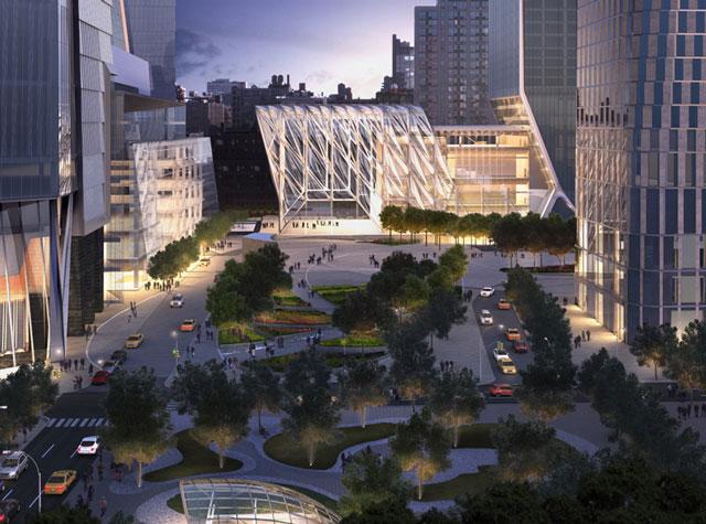 The Plaza at Hudson Yards