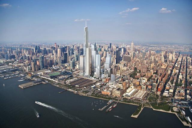 Hudson Spire + The Hudson Yards