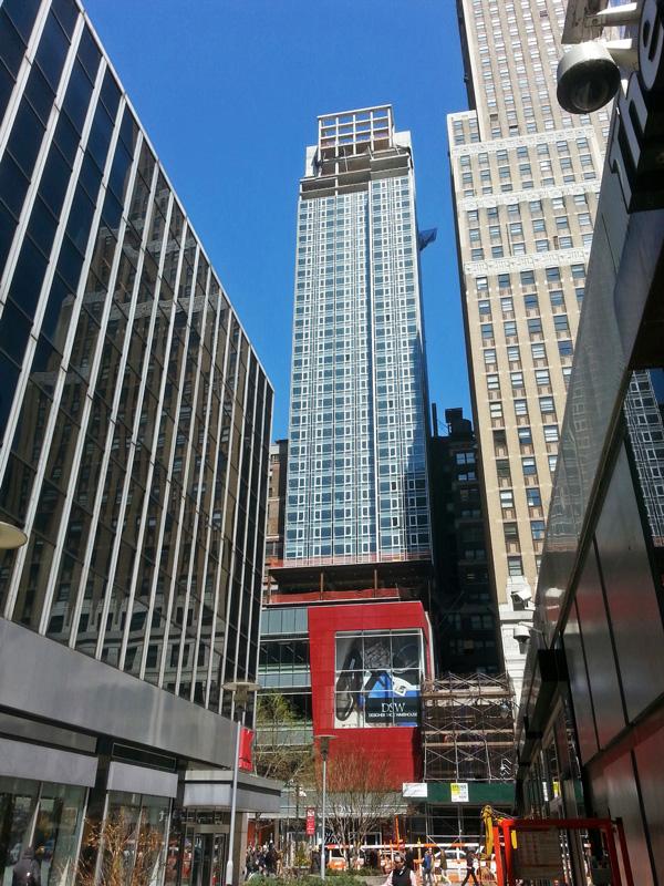 Construction Update 218 West 35th Street New York YIMBY