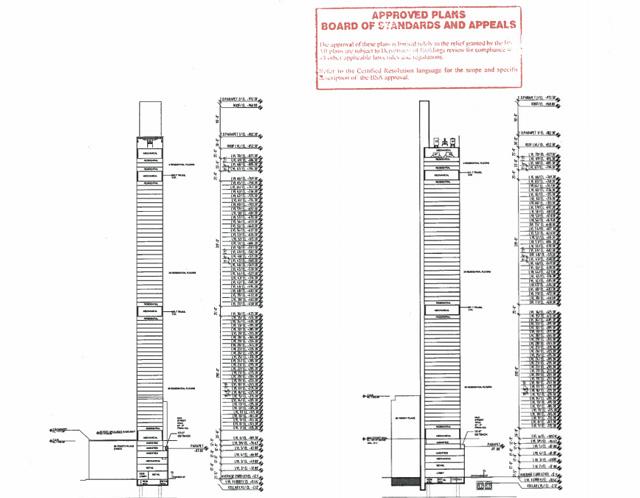 22 Thames DOB Plans