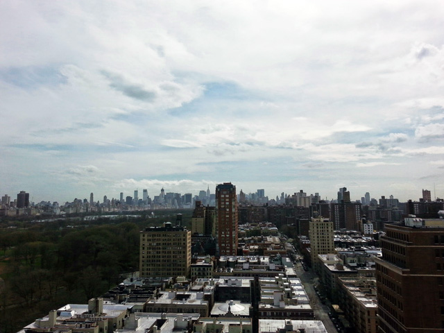 Midtown View from One Morningside