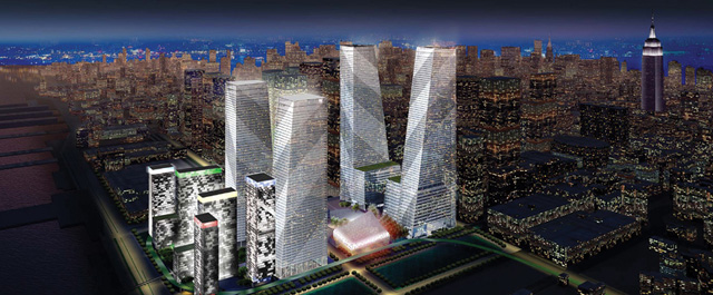 In Contract Hudson Spire New York Yimby