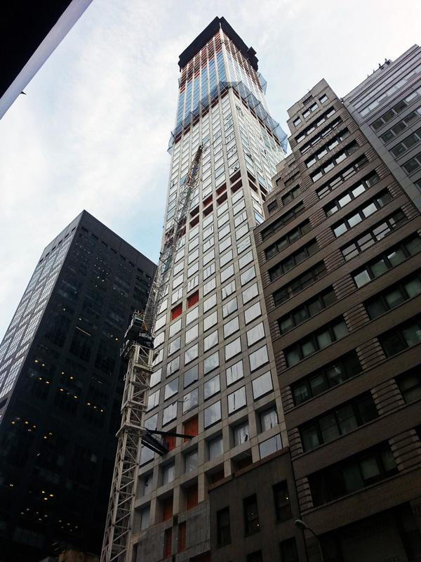 Construction Update 432 Park Avenue New York YIMBY