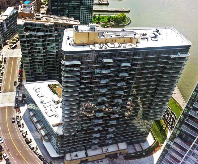 Aerial of 4610 Center Boulevard