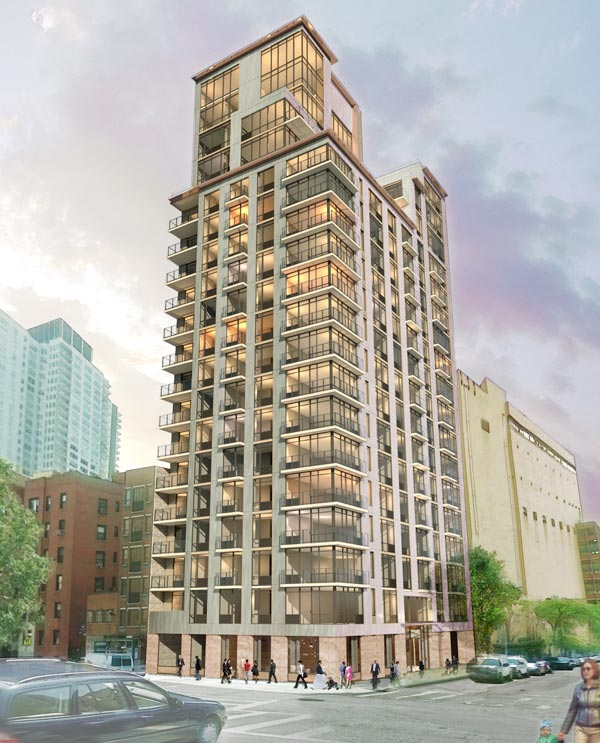Dual 24 Story Apartment Towers Debut At 8th Spring: 501 East 74th Street On York Avenue
