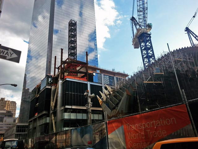 150 & 175 Greenwich and the World Trade Center Transit Hub