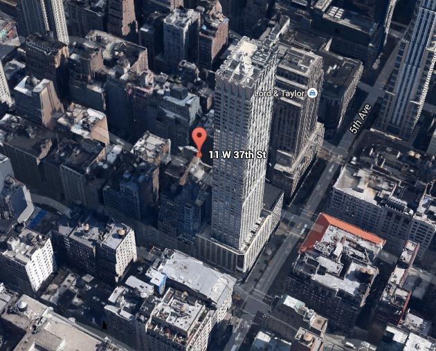 11 West 37th Street