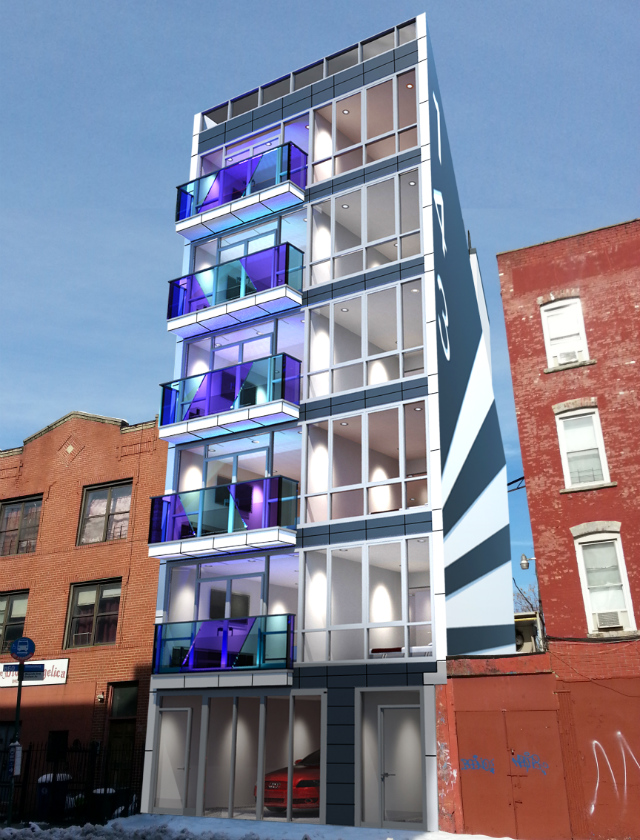 143 Meserole Street, rendering via New Empire Real Estate