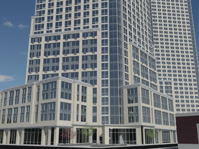 22-44 Jackson Avenue, rendering courtesy of HTO Architect