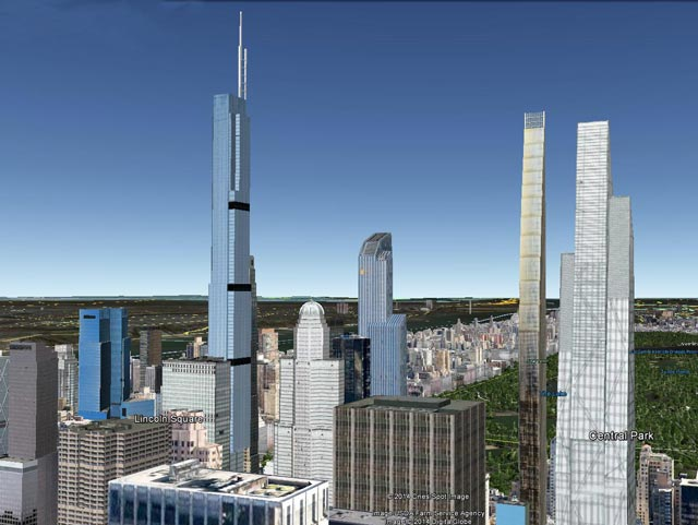 New Look 57th Street S Evolving Skyline Of Supertalls