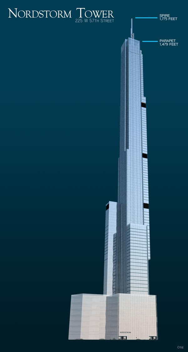 Nordstrom Tower to Become World's Tallest Residential Building at ...