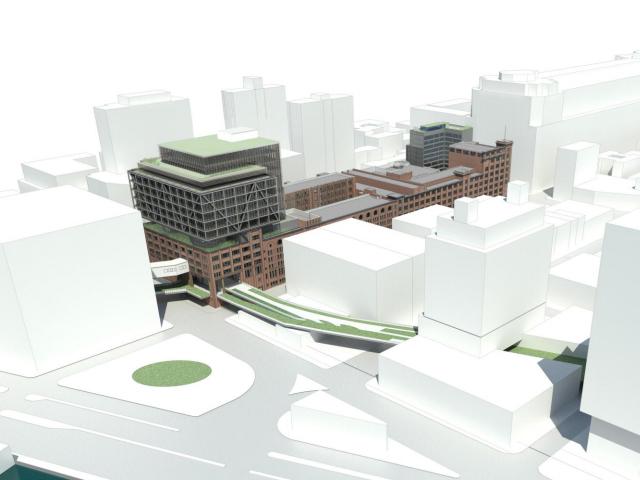 Chelsea Market rendering, via Jamestown