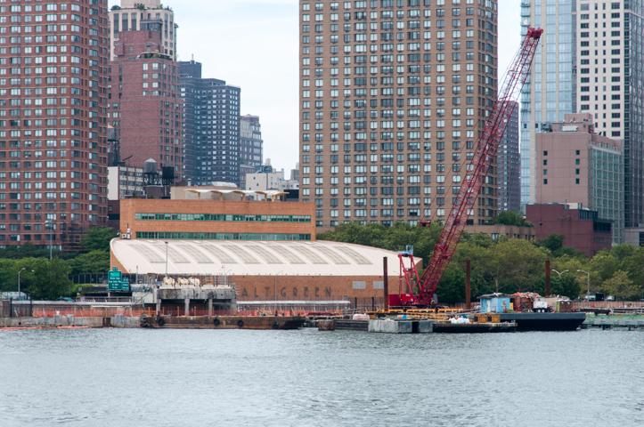 Upper East Side Marine Transfer Station.