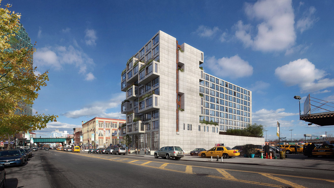 22-22 Jackson Avenue, rendering by ODA
