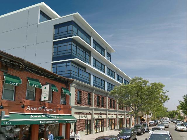 2409 Arthur Avenue, rendering via AB Capstone