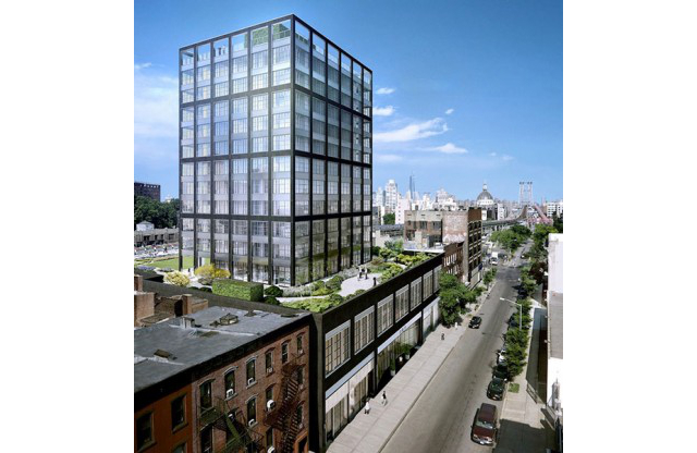 282 South 5th Street, rendering by Morris Adjmi