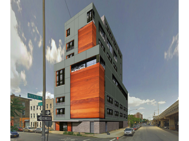 301 North 7th Street, rendering by Kutnicki Bernstein Architects