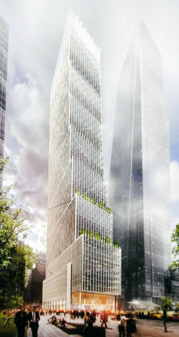 New york 50 hudson yards 504 522 w 34th 985 ft 58 for How far is hudson ny from nyc