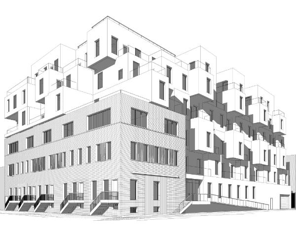 79 Quay Street, rendering via Cayuga Capital