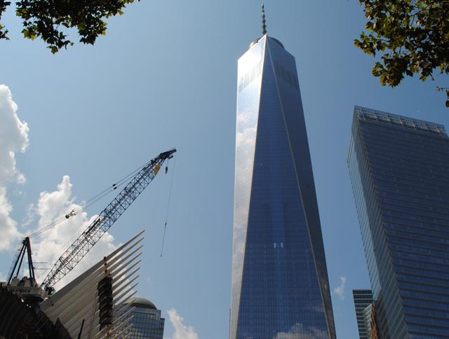 Transit Hub and One World Trade Center