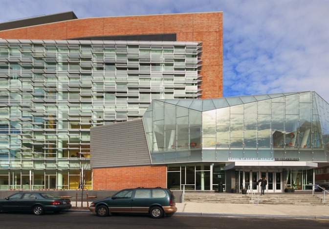 """Medgar Evers, Academic Building I, rendering from <a href=""""http://mckissack.com/pages/projects/detail.aspx?projid=201"""">McKissak</a>"""