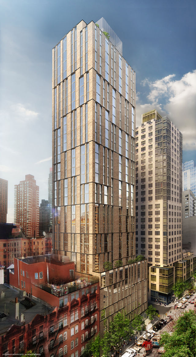 Revealed 1711 First Avenue Condos By Shop For Anbau