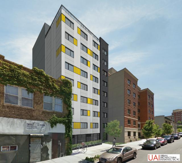 491 East 165th Street, rendering by UIA