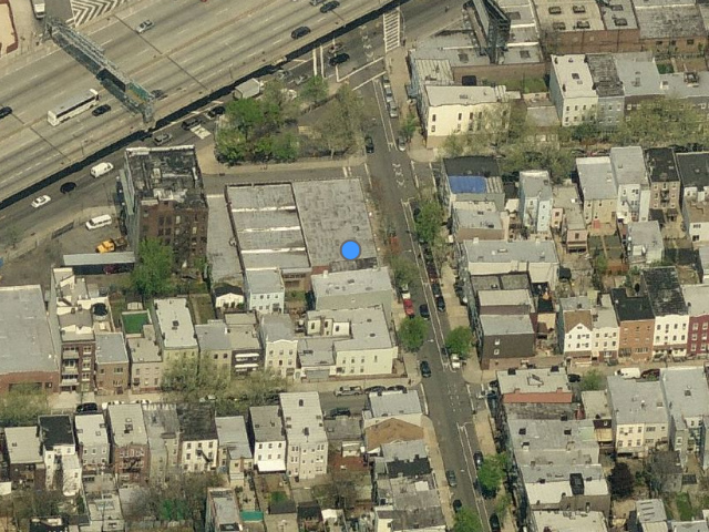 88 Withers Street, overhead shot from Bing Maps