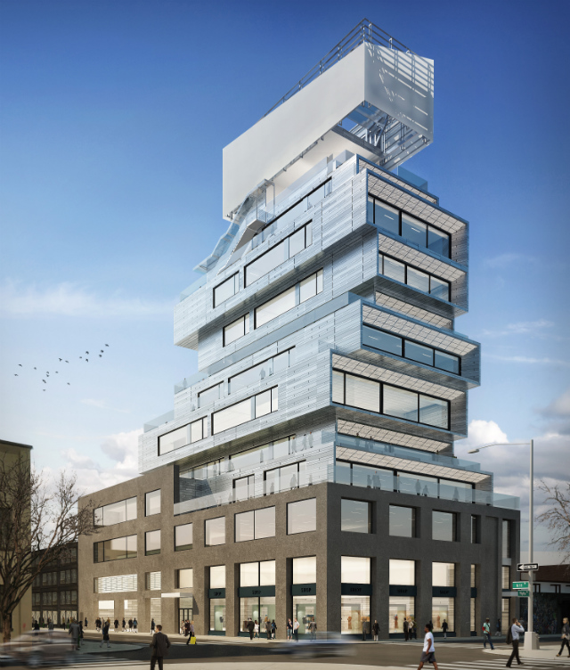 87 Wythe Avenue, rendering by Cycle Cities