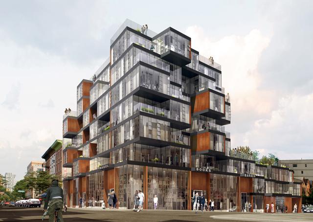 134 Vanderbilt Avenue, rendering by ODA