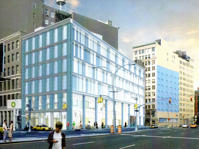 19 East Houston Street, rendering by Perkins Eastman