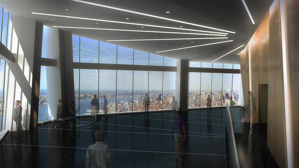 One World Observatory, rendering released by David Checketts