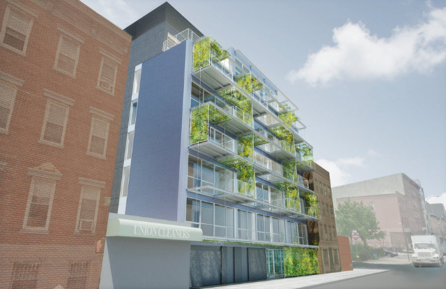 305 Union Avenue, rendering by Garrison Architects