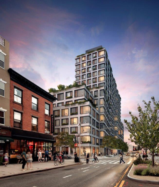 Park Pacific Apartments: Revealed: 550 Vanderbilt Avenue, 17-Story Pacific Park