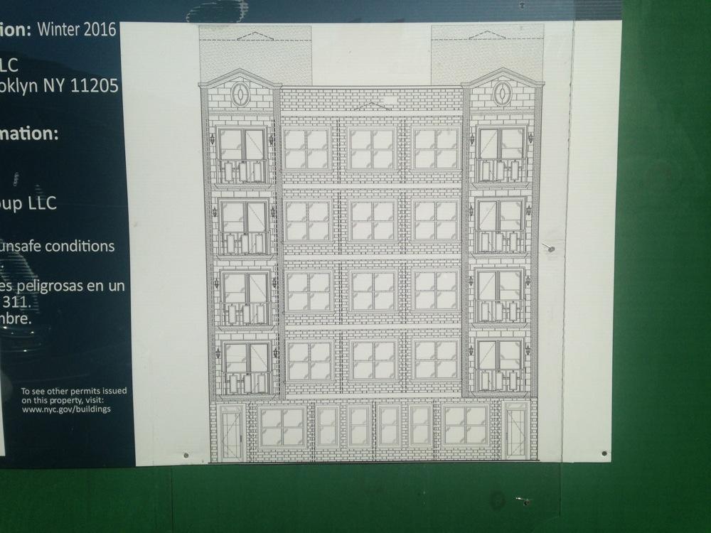 855 Dekalb Avenue, image via Brownstoner