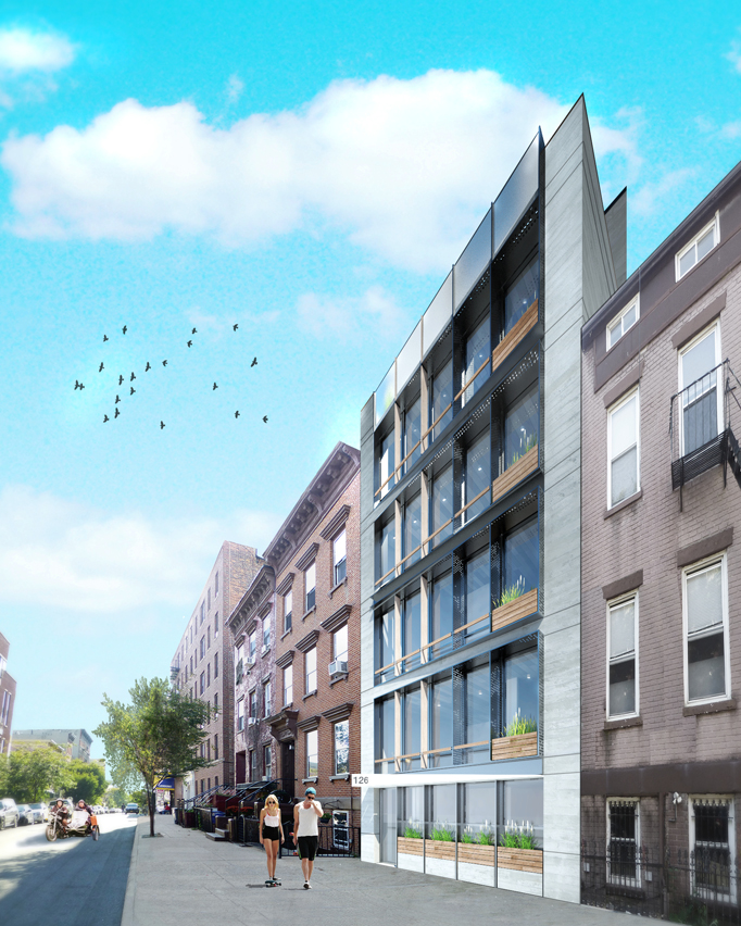 126 South 2nd Street, rendering by Melamed Architect